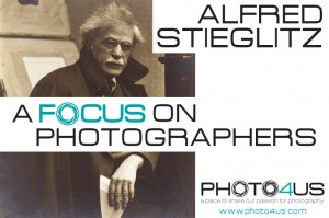 A Focus on Photographers > Alfred Stieglitz