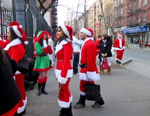 Santacon 2012 NYC Route